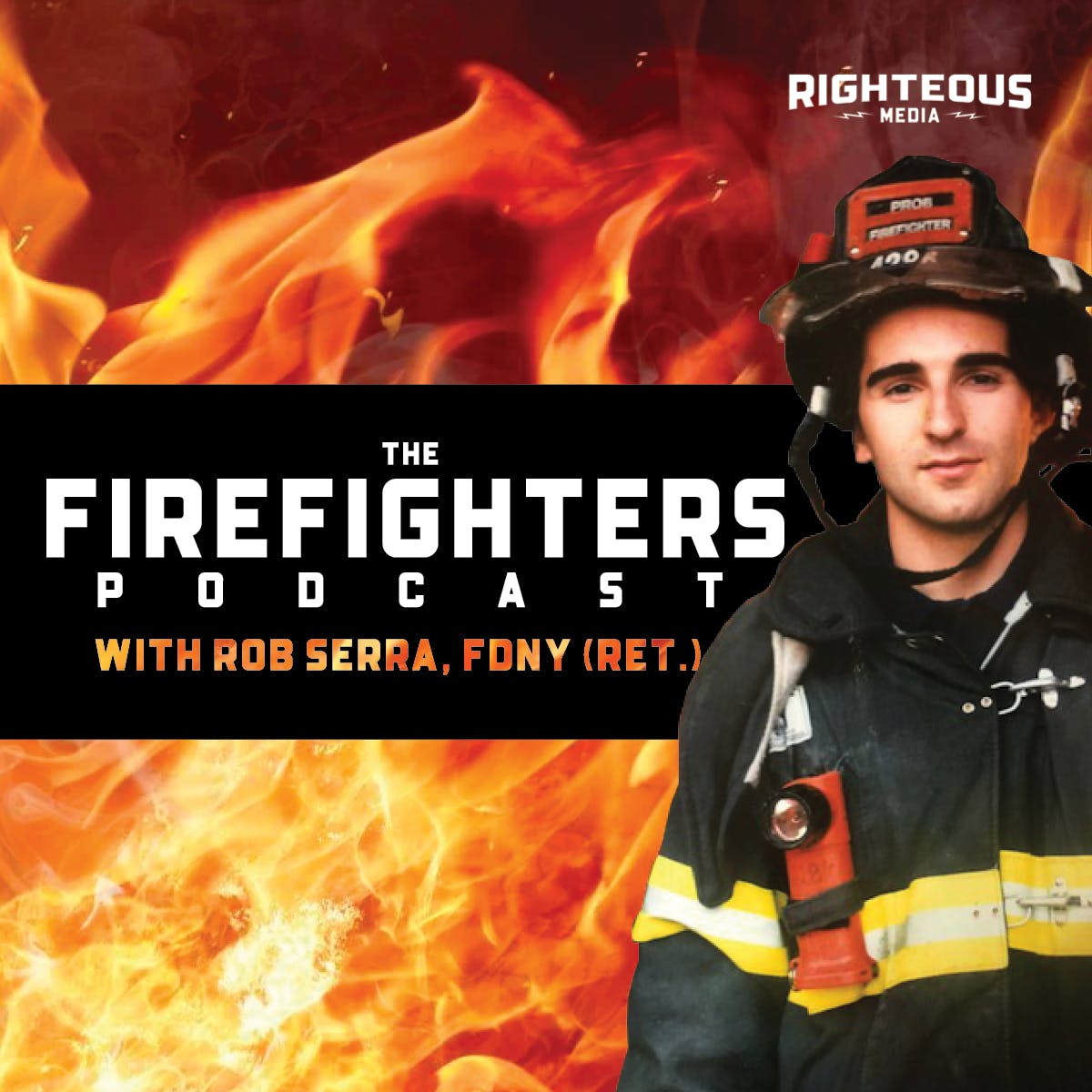 9/11 HERO HOSTS NEW FIREFIGHTERS PODCAST